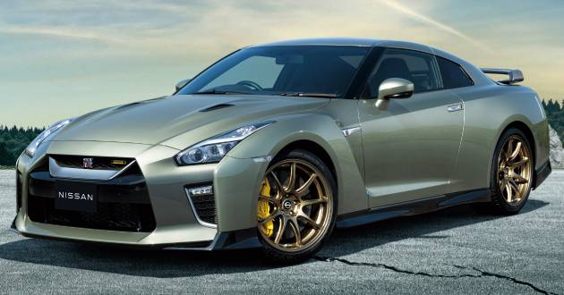2022 Nissan GT-R T-spec limited editions mark return of iconic Midnight Purple and Millennium Jade colours