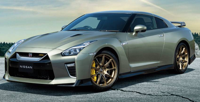 2022 Nissan GT-R T-spec limited editions mark return of iconic Midnight Purple and Millennium Jade colours Image #1346311