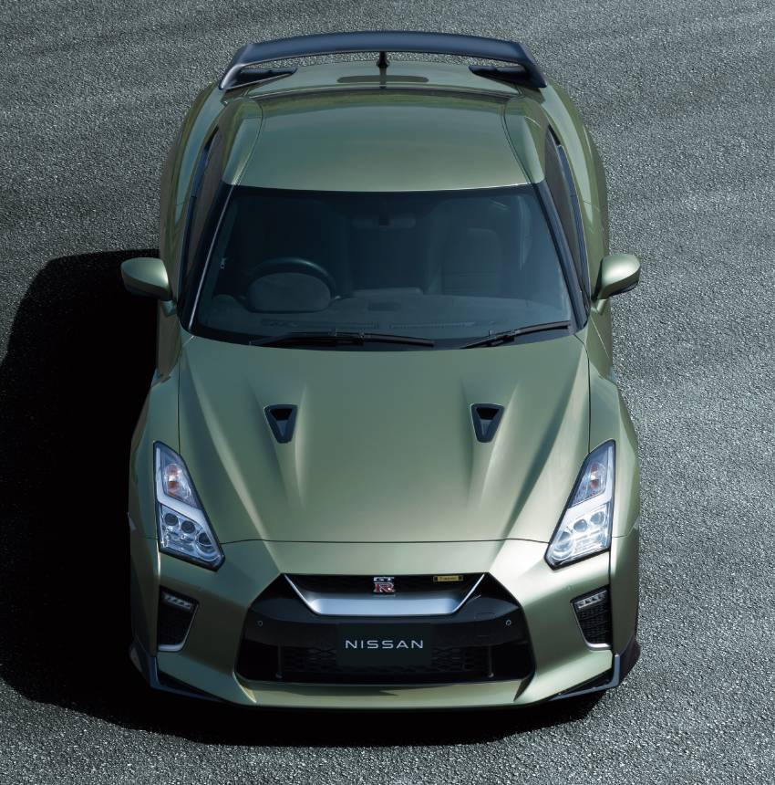 2022 Nissan GT-R T-spec limited editions mark return of iconic Midnight Purple and Millennium Jade colours Image #1346313
