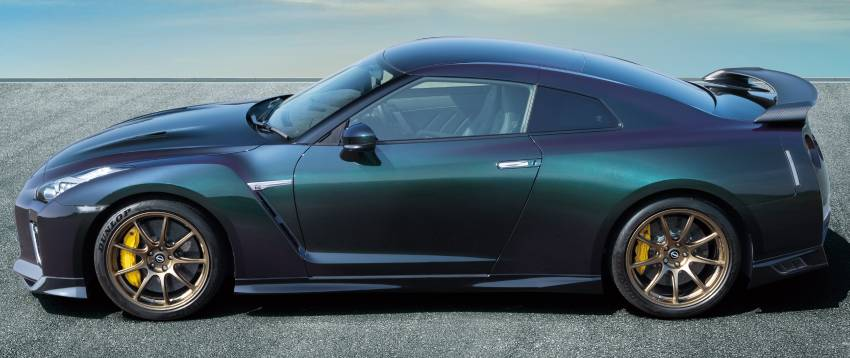2022 Nissan GT-R T-spec limited editions mark return of iconic Midnight Purple and Millennium Jade colours Image #1346314