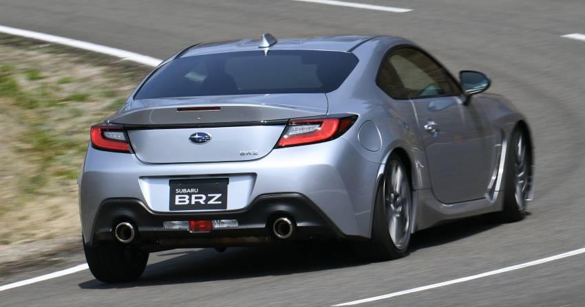 2022 Subaru BRZ 2.4L priced from RM119k in Australia Image #1343870