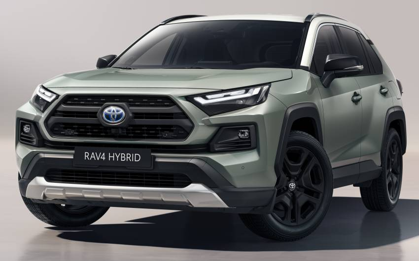 2022 Toyota RAV4 revealed – new headlights, wheels and USB-C ports; Adventure now offered in Europe Image #1346971