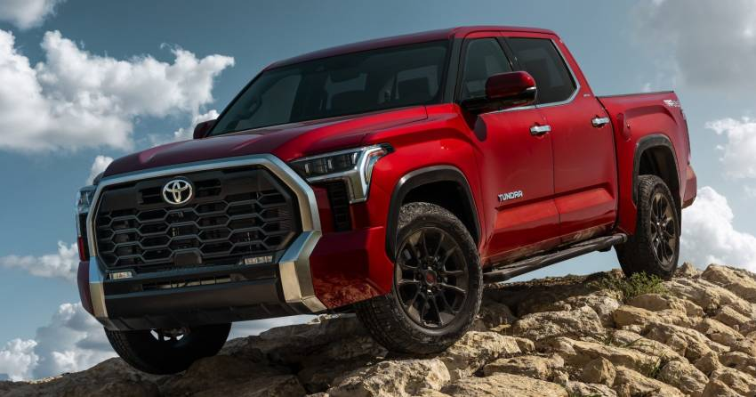2022 Toyota Tundra – full-sized pick-up debuts with 3.5L twin-turbo V6, 10-spd auto; up to 437 hp, 790 Nm! Image #1348621