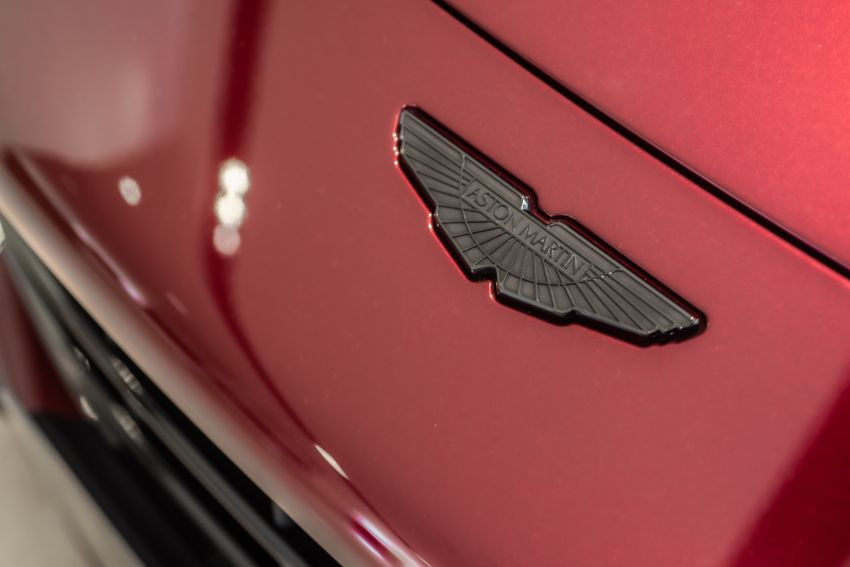 Aston Martin Vantage 'Liquid Crimson' in Malaysia – first unit here with the 70th anniversary 'vaned' grille Image #1339800