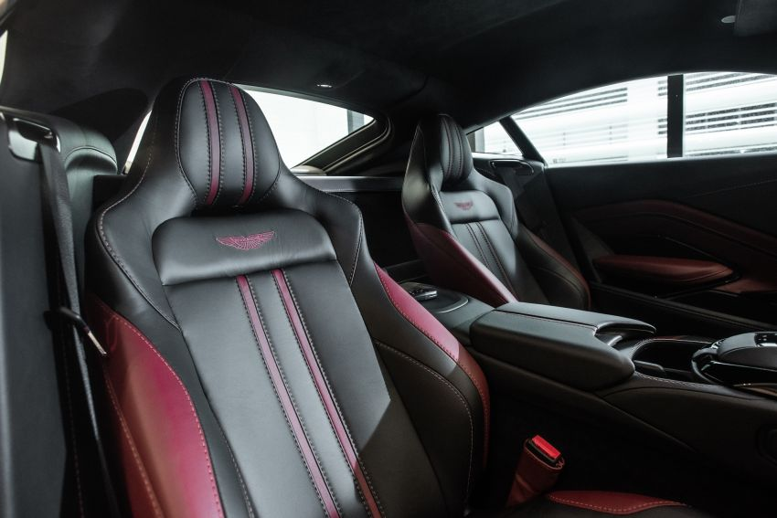 Aston Martin Vantage 'Liquid Crimson' in Malaysia – first unit here with the 70th anniversary 'vaned' grille Image #1339810