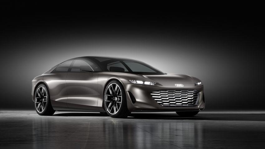 Audi grandsphere concept revealed, previews electric A8 replacement – PPE platform, 720 PS, 750 km range Image #1341063