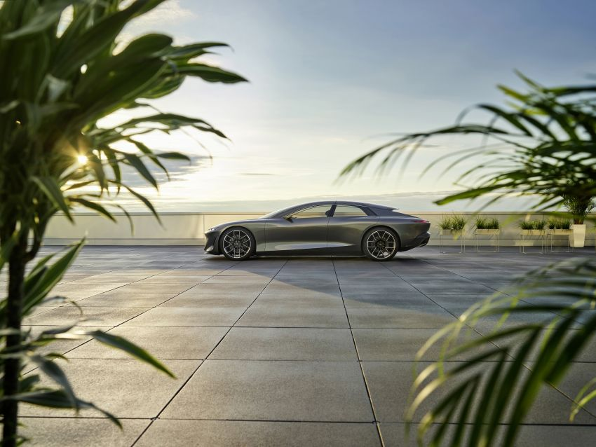 Audi grandsphere concept revealed, previews electric A8 replacement – PPE platform, 720 PS, 750 km range Image #1341073