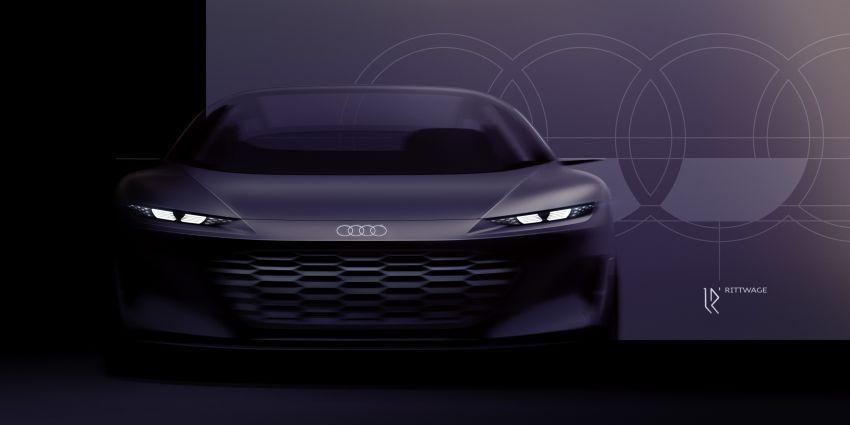 Audi grandsphere concept revealed, previews electric A8 replacement – PPE platform, 720 PS, 750 km range Image #1341174