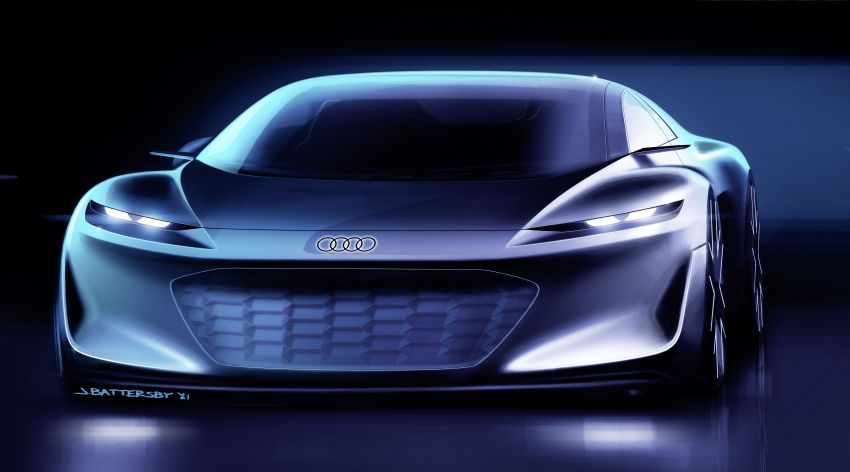 Audi grandsphere concept revealed, previews electric A8 replacement – PPE platform, 720 PS, 750 km range Image #1341176