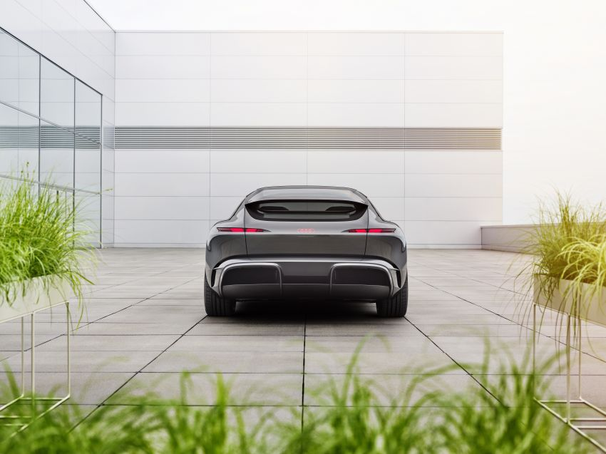 Audi grandsphere concept revealed, previews electric A8 replacement – PPE platform, 720 PS, 750 km range Image #1341076