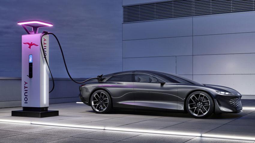 Audi grandsphere concept revealed, previews electric A8 replacement – PPE platform, 720 PS, 750 km range Image #1341078