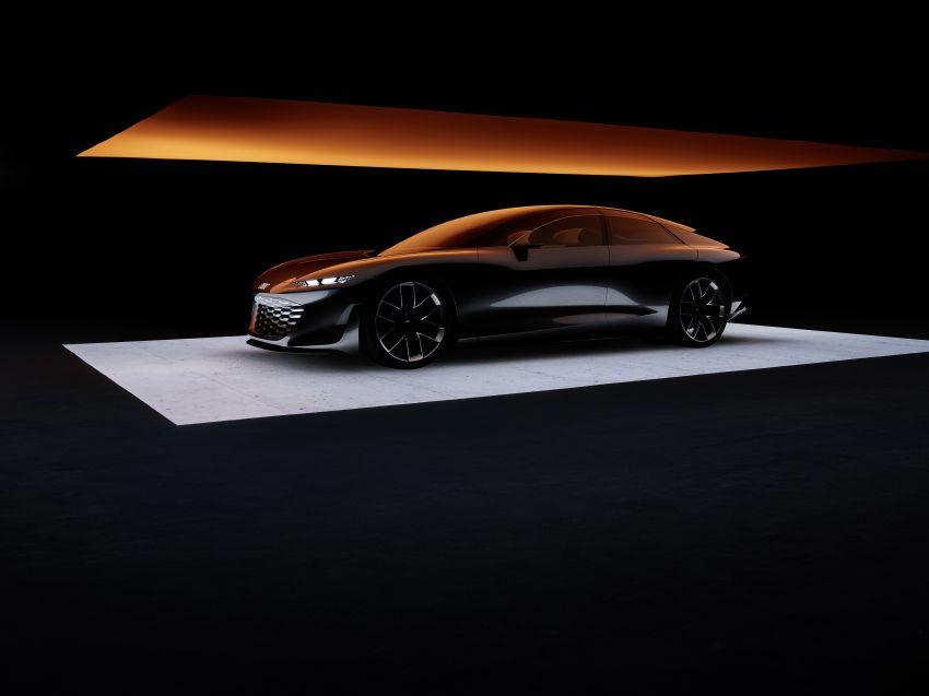 Audi grandsphere concept revealed, previews electric A8 replacement – PPE platform, 720 PS, 750 km range Image #1341080