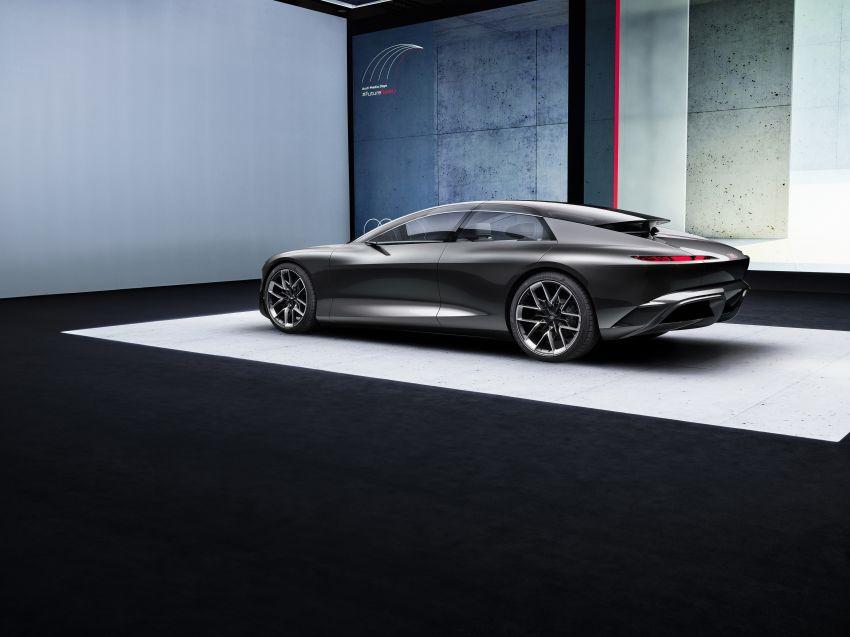 Audi grandsphere concept revealed, previews electric A8 replacement – PPE platform, 720 PS, 750 km range Image #1341083
