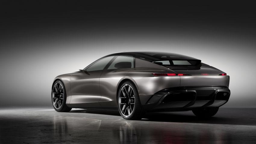 Audi grandsphere concept revealed, previews electric A8 replacement – PPE platform, 720 PS, 750 km range Image #1341064