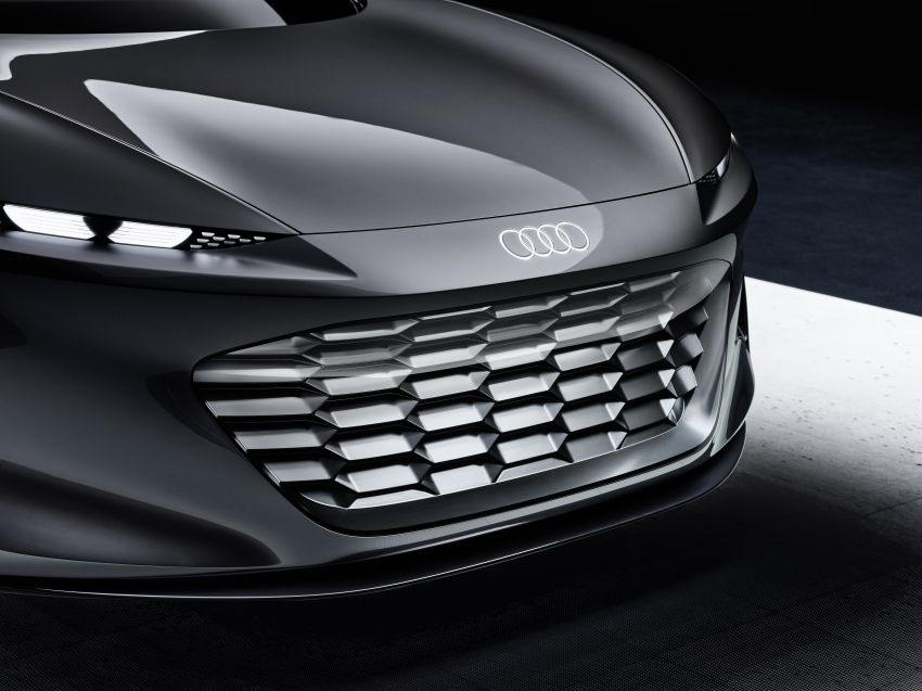Audi grandsphere concept revealed, previews electric A8 replacement – PPE platform, 720 PS, 750 km range Image #1341085