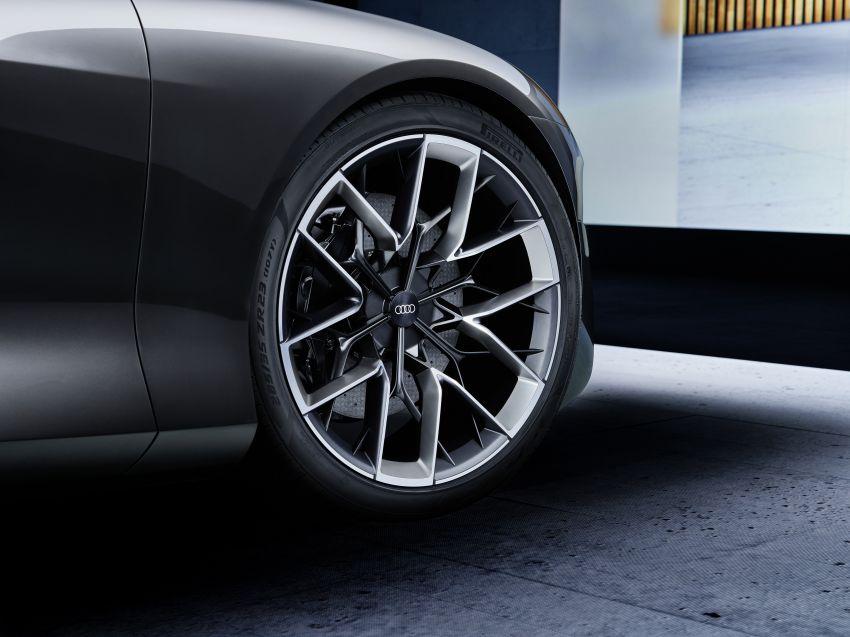 Audi grandsphere concept revealed, previews electric A8 replacement – PPE platform, 720 PS, 750 km range Image #1341087