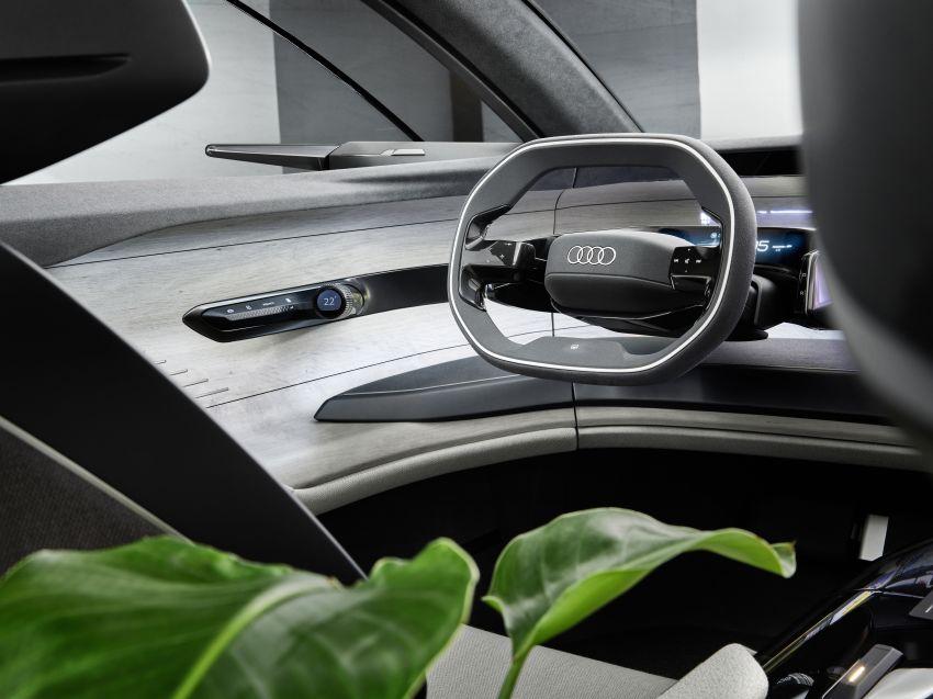 Audi grandsphere concept revealed, previews electric A8 replacement – PPE platform, 720 PS, 750 km range Image #1341096
