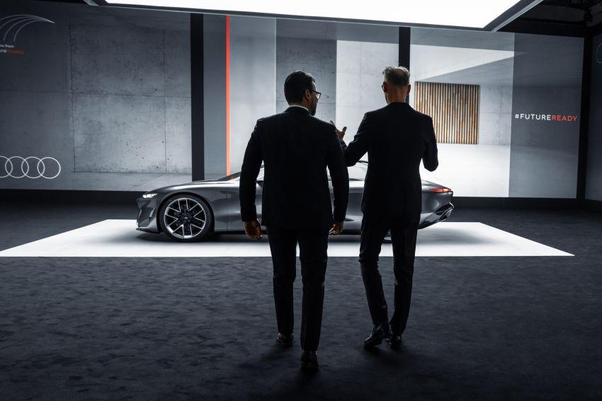 Audi grandsphere concept revealed, previews electric A8 replacement – PPE platform, 720 PS, 750 km range Image #1341098