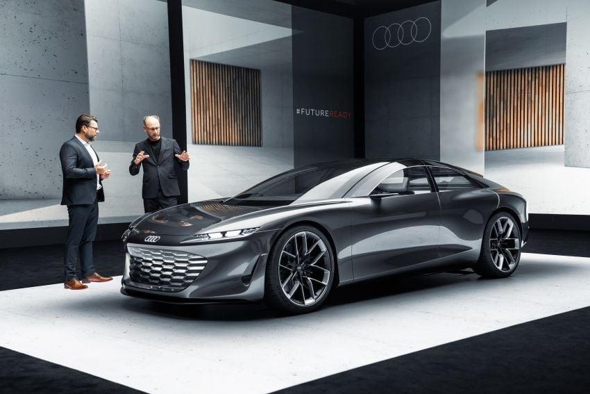 Audi grandsphere concept revealed, previews electric A8 replacement – PPE platform, 720 PS, 750 km range Image #1341099