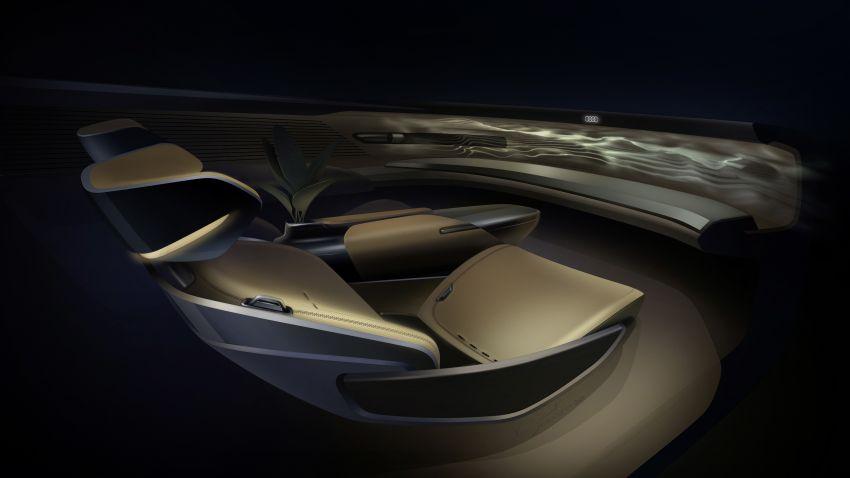 Audi grandsphere concept revealed, previews electric A8 replacement – PPE platform, 720 PS, 750 km range Image #1341111