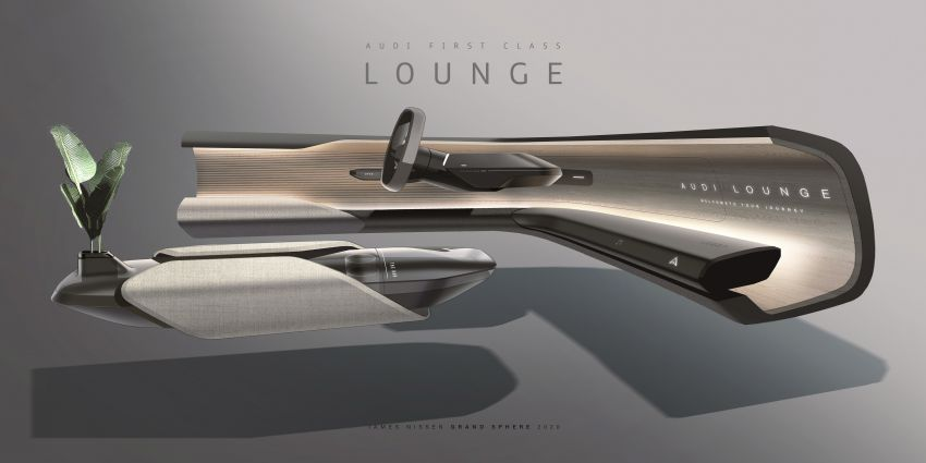 Audi grandsphere concept revealed, previews electric A8 replacement – PPE platform, 720 PS, 750 km range Image #1341119