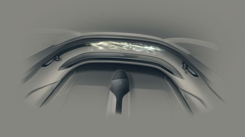 Audi grandsphere concept revealed, previews electric A8 replacement – PPE platform, 720 PS, 750 km range Image #1341124