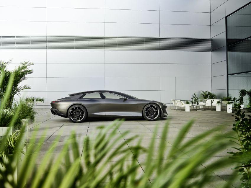 Audi grandsphere concept revealed, previews electric A8 replacement – PPE platform, 720 PS, 750 km range Image #1341069