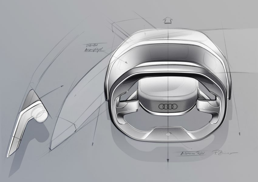Audi grandsphere concept revealed, previews electric A8 replacement – PPE platform, 720 PS, 750 km range Image #1341129