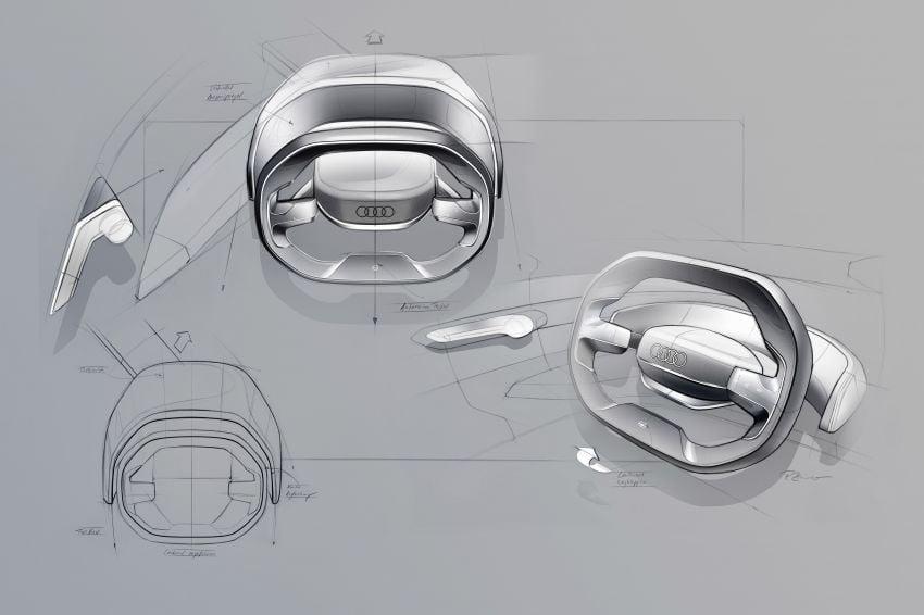 Audi grandsphere concept revealed, previews electric A8 replacement – PPE platform, 720 PS, 750 km range Image #1341132