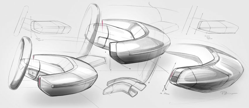 Audi grandsphere concept revealed, previews electric A8 replacement – PPE platform, 720 PS, 750 km range Image #1341134