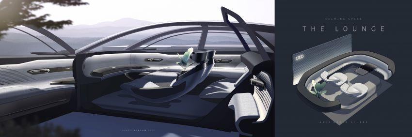 Audi grandsphere concept revealed, previews electric A8 replacement – PPE platform, 720 PS, 750 km range Image #1341136
