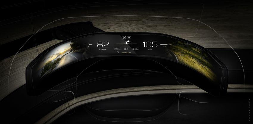 Audi grandsphere concept revealed, previews electric A8 replacement – PPE platform, 720 PS, 750 km range Image #1341145