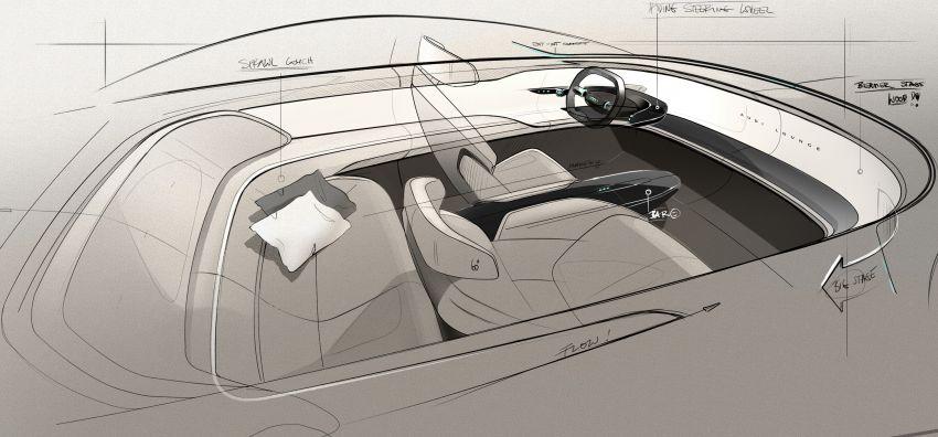 Audi grandsphere concept revealed, previews electric A8 replacement – PPE platform, 720 PS, 750 km range Image #1341156