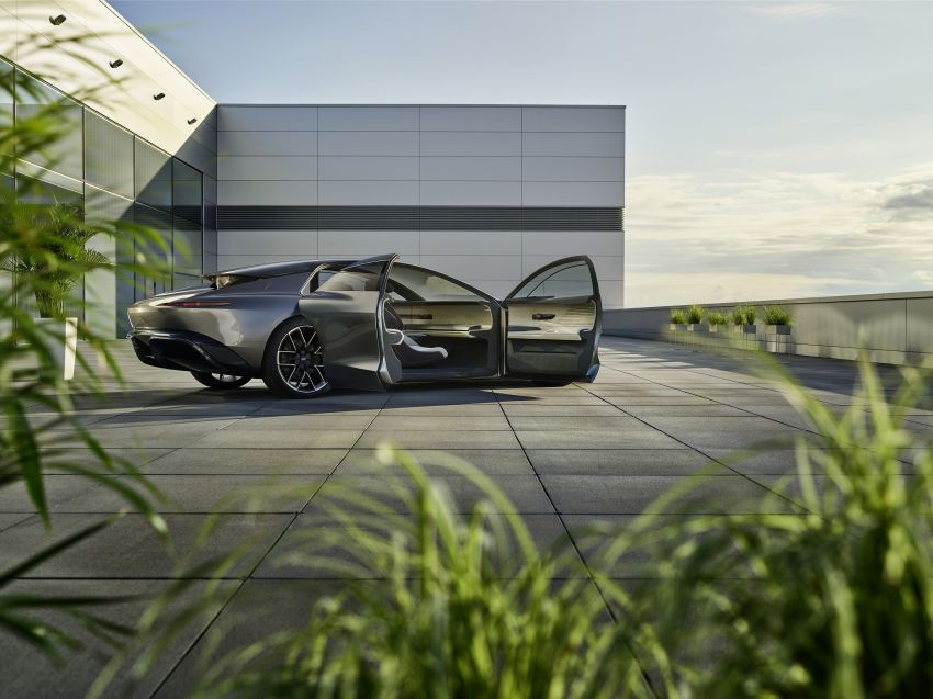 Audi grandsphere concept revealed, previews electric A8 replacement – PPE platform, 720 PS, 750 km range Image #1341072