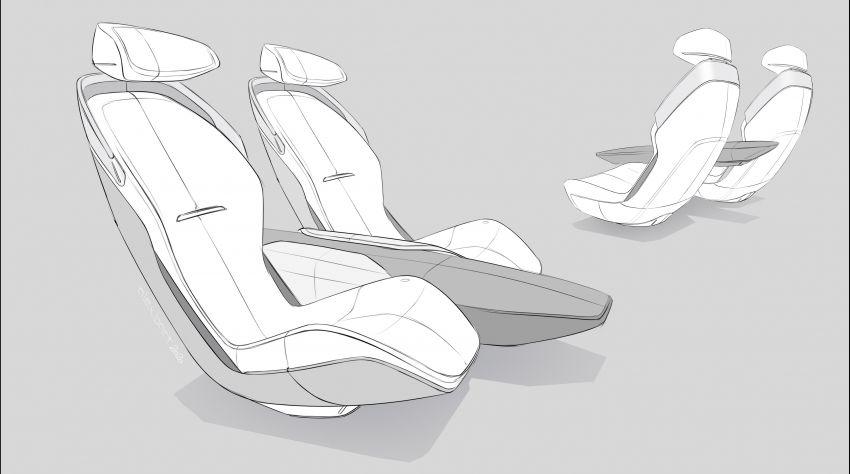 Audi grandsphere concept revealed, previews electric A8 replacement – PPE platform, 720 PS, 750 km range Image #1341161