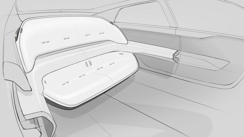 Audi grandsphere concept revealed, previews electric A8 replacement – PPE platform, 720 PS, 750 km range Image #1341166