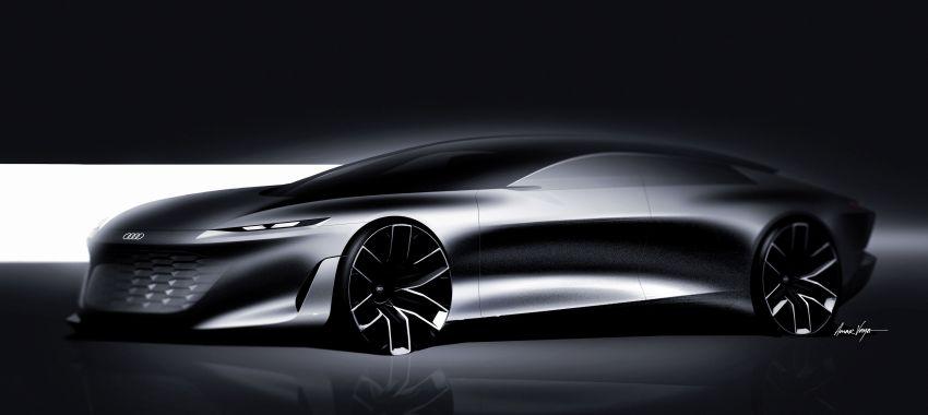 Audi grandsphere concept revealed, previews electric A8 replacement – PPE platform, 720 PS, 750 km range Image #1341167