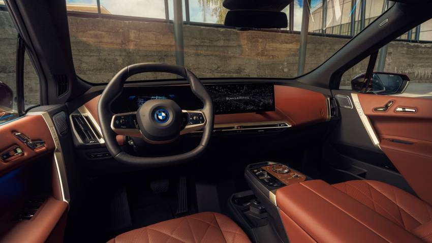 BMW iX – first EV to get Bowers & Wilkins Diamond Surround Sound System, the most advanced in a car! Image #1344560