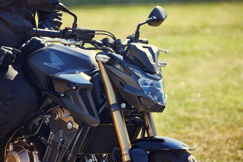Honda CB500R, CB500F dan CB500X diperbaharui – enjin Euro 5, fork USD Showa, brek cakera berkembar Image #1340494