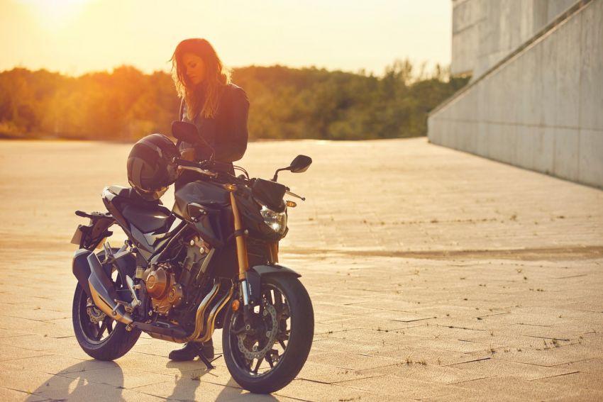 Honda CB500R, CB500F dan CB500X diperbaharui – enjin Euro 5, fork USD Showa, brek cakera berkembar Image #1340495
