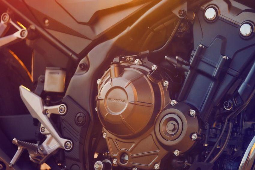 Honda CB500R, CB500F dan CB500X diperbaharui – enjin Euro 5, fork USD Showa, brek cakera berkembar Image #1340498