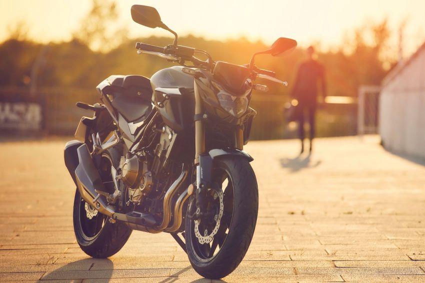 Honda CB500R, CB500F dan CB500X diperbaharui – enjin Euro 5, fork USD Showa, brek cakera berkembar Image #1340500