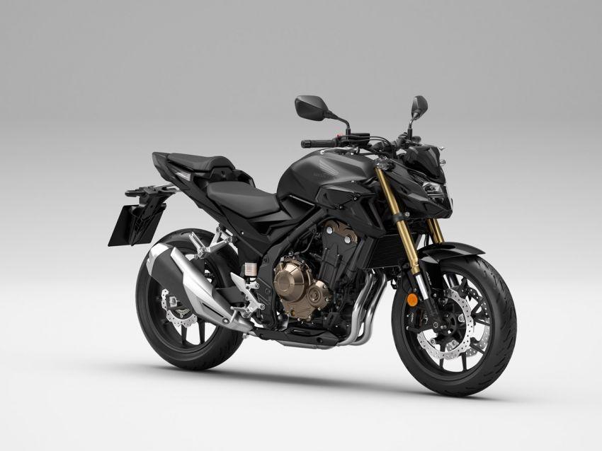 Honda CB500R, CB500F dan CB500X diperbaharui – enjin Euro 5, fork USD Showa, brek cakera berkembar Image #1340512