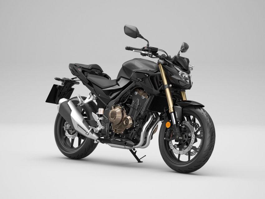 Honda CB500R, CB500F dan CB500X diperbaharui – enjin Euro 5, fork USD Showa, brek cakera berkembar Image #1340514