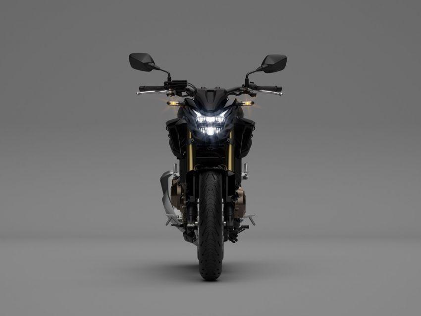 Honda CB500R, CB500F dan CB500X diperbaharui – enjin Euro 5, fork USD Showa, brek cakera berkembar Image #1340515