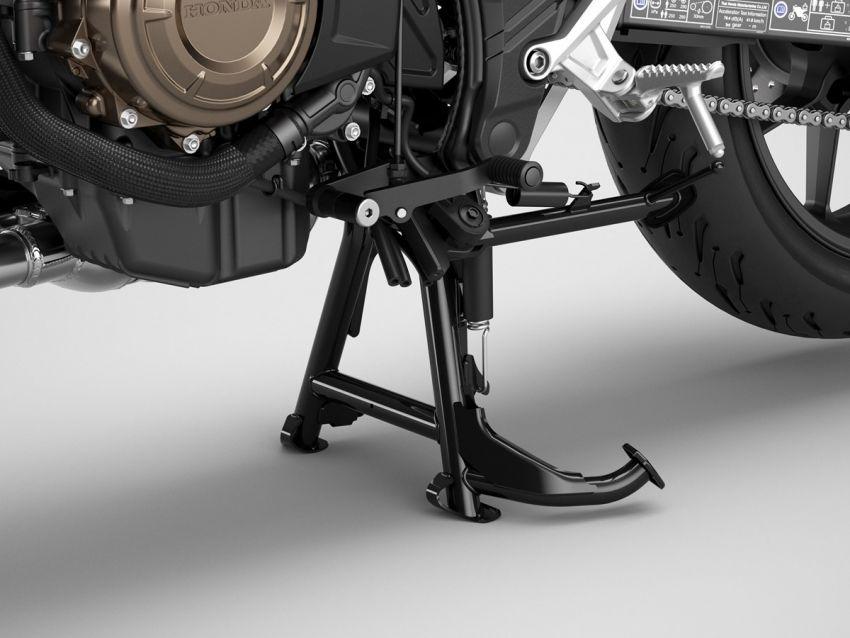 Honda CB500R, CB500F dan CB500X diperbaharui – enjin Euro 5, fork USD Showa, brek cakera berkembar Image #1340525