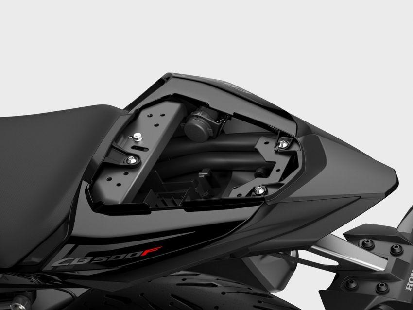 Honda CB500R, CB500F dan CB500X diperbaharui – enjin Euro 5, fork USD Showa, brek cakera berkembar Image #1340526
