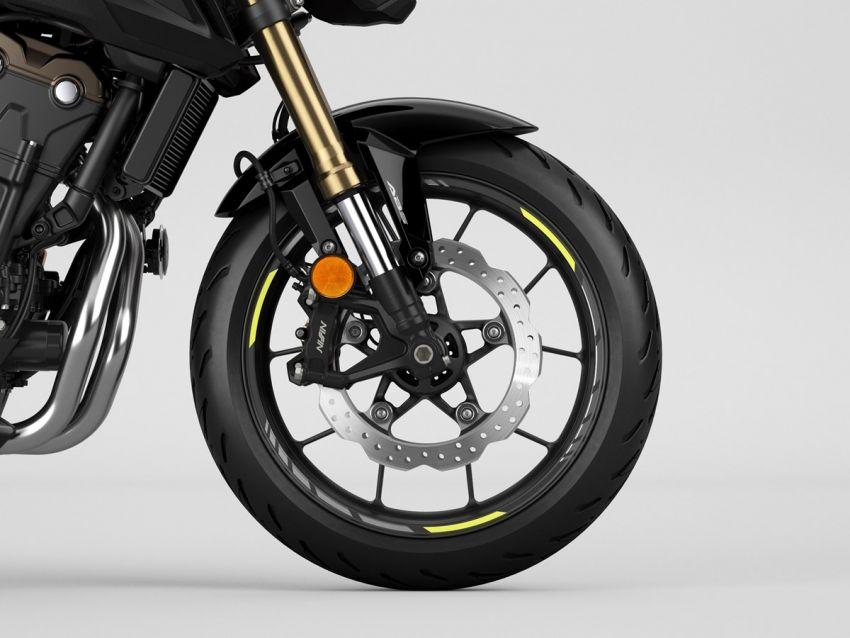 Honda CB500R, CB500F dan CB500X diperbaharui – enjin Euro 5, fork USD Showa, brek cakera berkembar Image #1340529