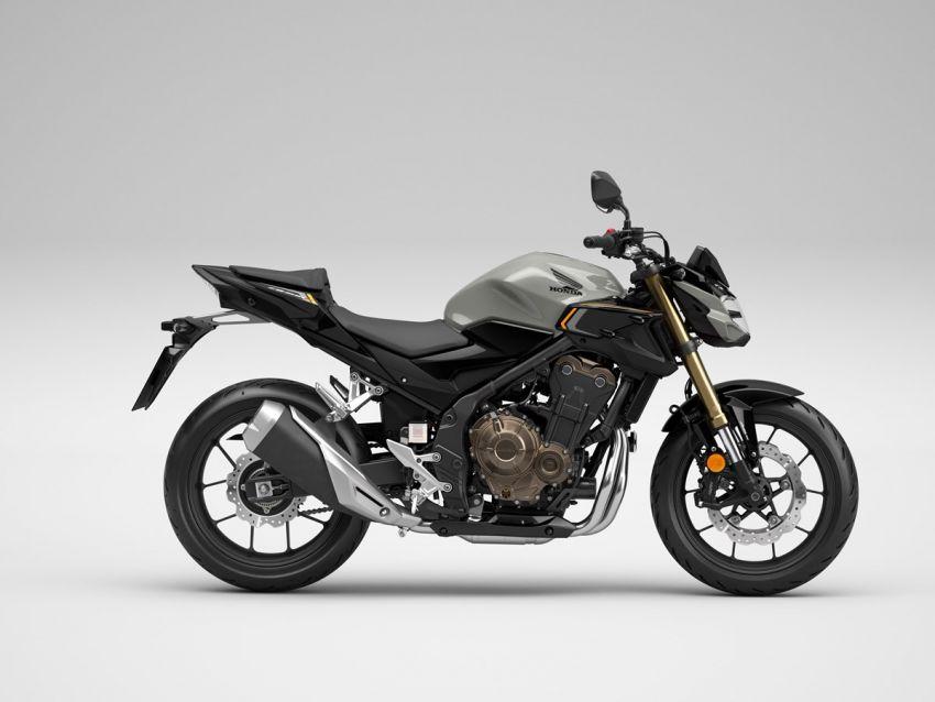 Honda CB500R, CB500F dan CB500X diperbaharui – enjin Euro 5, fork USD Showa, brek cakera berkembar Image #1340533