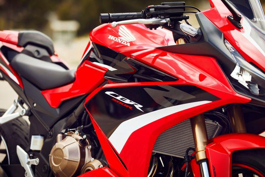 Honda CB500R, CB500F dan CB500X diperbaharui – enjin Euro 5, fork USD Showa, brek cakera berkembar Image #1340601